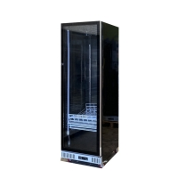 China Bar Full Glass Display Beverage Refrigerator with LED on sale