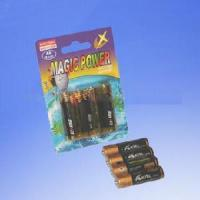 Quality 4-Piece Batteries in Blister Card (LR03/LR6) for sale
