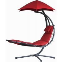 Quality Durable Other Furniture Single Fabric Swing Chair With Canopy , Hanging Patio Chair With Stand for sale