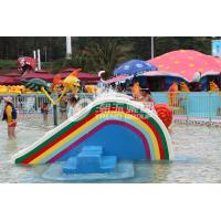 Buy Small Rainbow Bridge Slide, Children Water Park Slide of Small Waterpark for Kids at wholesale prices