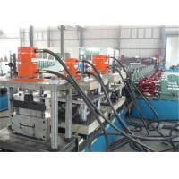 Ladder Cover Metal Stud Roll Forming Machine 1.2-2.0mm Thickness Gear Speed for sale
