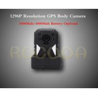 Quality M505 1296P Resolution Police Body Worn Camera with GPS , 11 hours working time for sale