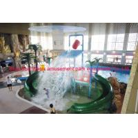 Quality Water World Park Indoor Children Water Playground With Water Fall 8 * 4 * 6m for sale