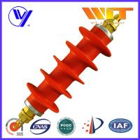 Professional Switching Red Polymer Surge Arrester 54KV in Substation