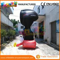 Quality 4m Height Advertising Inflatables Yamaha Shape Red and Black for sale