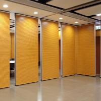 Buy cheap Soundproof Wooden Foldable Movable Partition Walls For Meeting Room / Exhibition Hall from wholesalers