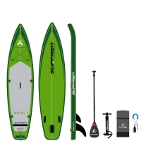 Quality All Round Green 160KG 365*81*15cm Surf Womens Inflatable SUP for sale