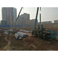 Quality ZYC180 static pile driver  for precast concrete pile of pile  foundation with 8T lifting crane for sale