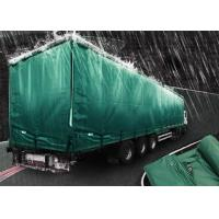 Quality 200gsm Weignt Geomembrane Pond Liner PE Tarpaulin Roll Green Color For Truck Cover for sale