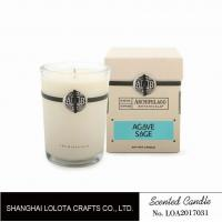 Quality Southern Belle / Raspberry Fragrance Natural Scented Candle Chemical Free , Eliminating Odors for sale