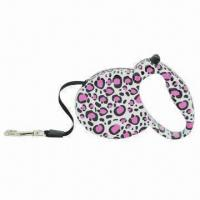 Quality Retractable dog leash, OEM orders are welcome, available in various colors and styles for sale