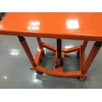 Quality Heavy Duty Foldable Portable Lift Table , Industrial Scissor Lift Table for sale