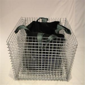 Quality Decorative Garden Welded Gabionen Baskets, Rock Cages Pot Plant Gabions for sale