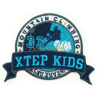 Quality Professional Clothing Embroidered Patches / Iron On Embroidered Badges for sale