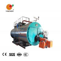 Quality Low Pressure Steam Boiler 0.3-20 Tons / Horizontal Three Pass Fire Tube Boiler for sale