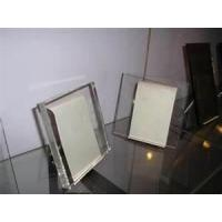 China 13mm, 14mm, 17mm safety heat strengthened cut stained Extra Clear Low - Iron float Glass on sale