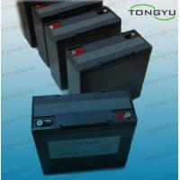 Buy cheap 12V 17Ah LiFePO4 Solar Energy Storage Battery for Telecom, UPS, Golf Trolleys product