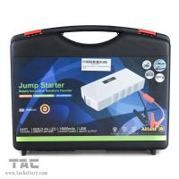Quality Portable Car Jump Starter & Power Bank ,  mini Truck / Bus heavy duty battery jump starter for sale