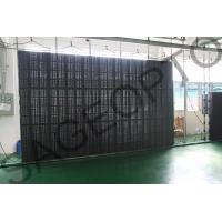 Quality High Definition P8.9 Advertising LED Curtain Screen as Window Transparent Display for sale