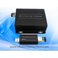 Buy cheap compact USB3.0 fiber optic extender for USB touch screen extension system product
