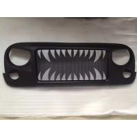 Quality Jeep Jk Wrangler Spartan Grille_Land Shark Material: ABS Plastic for sale