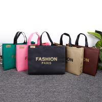 Buy cheap Friendly Customized Promotion Non-woven Handled Shopping Bag with logo from wholesalers