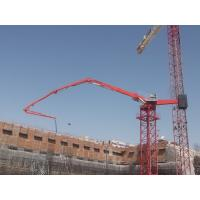 Quality 36m Stationary Concrete Placing Boom 4 Boom Sections With Proportional Valve for sale