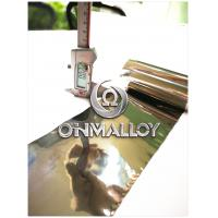 Buy cheap 0.02mm*1J79 Soft Magnetic Alloy,Super Permalloy,free sample ,fast delivery,magnetic shielding product