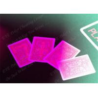 Quality 100% Plastic Fournier Marked Decks Marked Playing Cards For European Casinos for sale