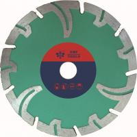 Quality Portable Segmented Diamond Stone Cutting Saw Blades  Protective Teeth  Marble Cutting for sale
