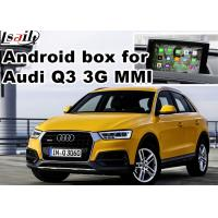 Quality Android multimedia video interface for Audi Q3 , gps navigation devices for sale