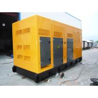 Quality Soundproof 	quiet diesel generator  EFI Engine , 400KW / 500KVA for sale
