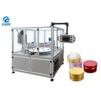 Quality Automatic Cosmetic Cream Filling Machine 2 Nozzles High Stability for sale