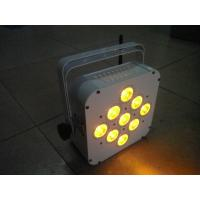 Buy cheap Slim Size Rgbaw 5 in1 LED Par Light 108W With Long Last Battery Power from wholesalers