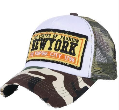 Buy Mesh Style Embroidery Mesh Trucker Hats Summer Baseball Cap Custom Design 2D Logo at wholesale prices