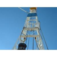 Buy hydraulic Drilling Rig derrick - mast 2200N·m Max.Torque for drilling rig at wholesale prices