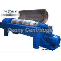Horizontal Centrifugal Decanter Centrifuges 2 / 3 Phase For WWTP for sale