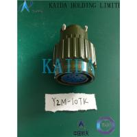 China Y2-10TK Brass Nickle Stainless Steel Cadmium Military Style Electrical Connectors on sale