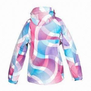 Quality Ski Jacket, Suitable for Women, 100% Polyester Honey Tasman, WP3, 000mm Shelling for sale