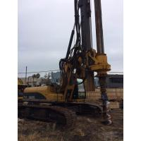 Quality Hydraulic Rotary Pile Driving Rig For Bored Pile Foundation 43M Depth 1.3M Dia KR125C for sale