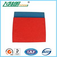 Quality 13mm Thickness Pattern System Athletics Track Material , Stadium Rubberised Outdoor Running Track for sale