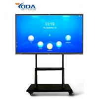 China 75 Inch Multi-Touch Points Touch Screen Monitor Interactive Displays Smart Panel on sale