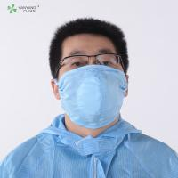 Quality AntiStatic Washable Cleanroom 3D dust respirator printed facial Mask design and manufacturer of protective face for sale