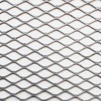 China Satellite Diamond Metal Mesh , Excellent Corrosion Resistance Flat Expanded Metal Mesh on sale
