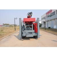 Buy Safety Self - propelled Crawler Mounted Water Well Drilling Rig 400m 2-5 inch at wholesale prices