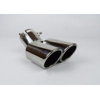Quality Mercedes 6 Inch SS304 Dual Exhaust Muffler Tip for sale
