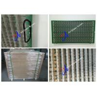 Quality API Approve SS316 1070 * 570 mm Shale Shaker Screen For Solid Control for sale