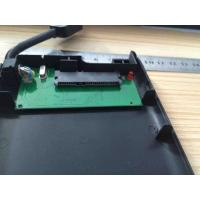 Buy cheap Plastic Play And Plug 2.5 Hard Drive Enclosure Built In Cable , JMS578 IC Chipset product