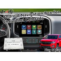 Quality Android 6.0 GPS Navigation Box Video Interface All-in-one for Chevrolet Colorado Camao  with Mirrorlink APP for sale