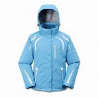Quality Popular Ski Suit, Water-resistant, Made of 100% Polyester Taslan Shelling for sale